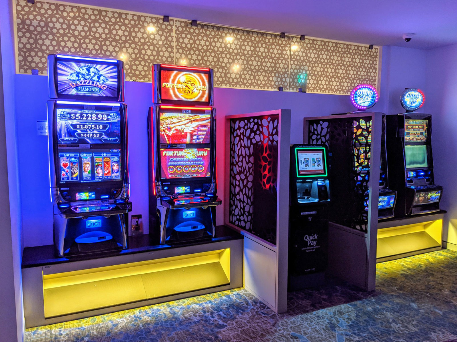 Wollongong Golf Club Gaming Room new design and layout